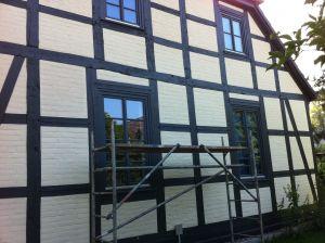 Fachwerkhaus nach der Sanierung